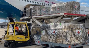 Airbus Vakfı, Covid-19 ve Ebola tıbbi yardım uçuşunu tamamladı