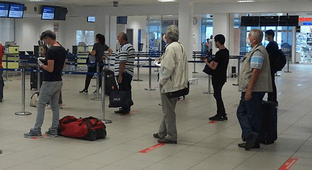 Gazipaşa-Alanya'da uçuşlar başladı