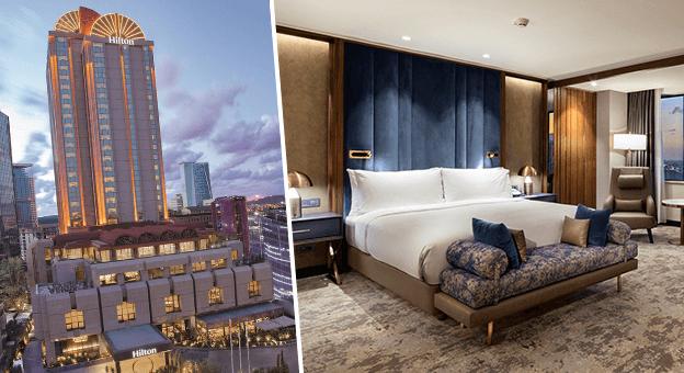 Hilton Istanbul Maslak'tan dijital anahtar uygulaması