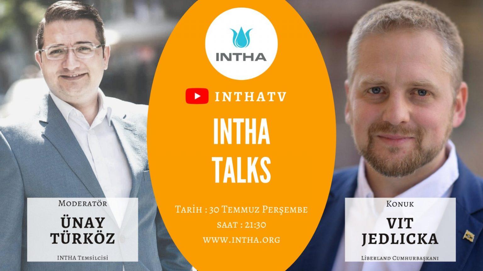 Liberland Cumhurbaşkanı Vit Jedlicka INTHA'nın Konuğu Oluyor