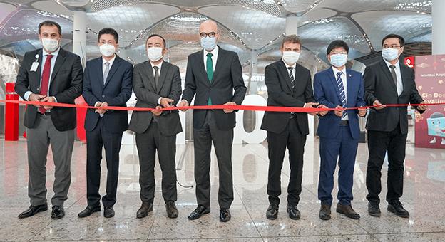 """İstanbul Havalimanı """"Çin Dostu Havalimanı"""" Oldu"""