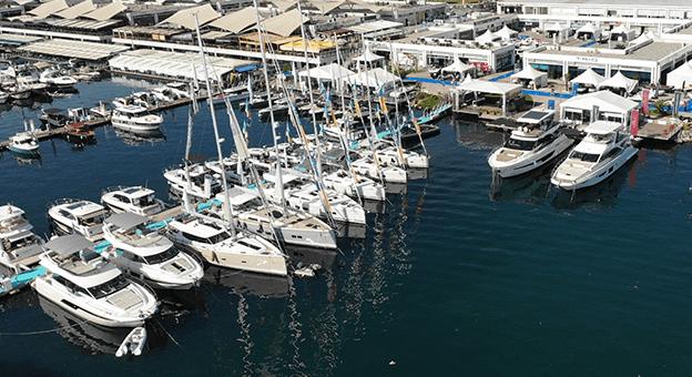 Tekneler CNR Avrasya Boat Show'da yelken açtı
