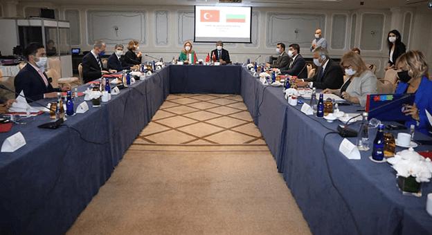 Bulgar Heyet Turizm İkili Görüşmeleri Kapsamında Türkiye'ye Geldi