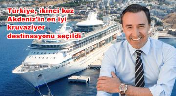 Türkiye, ikinci kez Akdeniz'in en iyi kruvaziyer destinasyonu seçildi