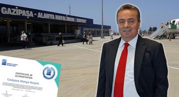 Sağlık Sertifikası Alan Havalimanları Arasına Gazipaşa-Alanya'da Katıldı