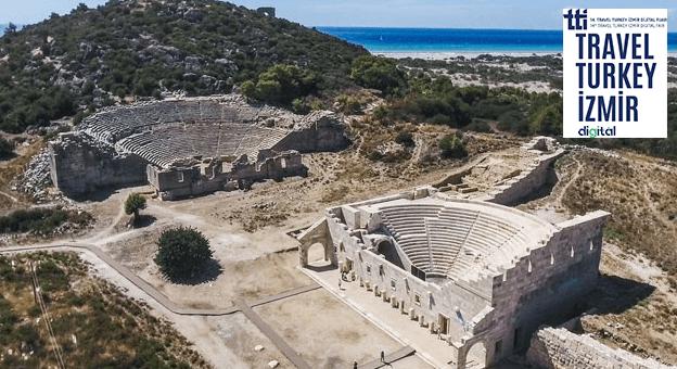 Patara Antik Kenti, Sanal Turizm Fuarı'na Taşınıyor