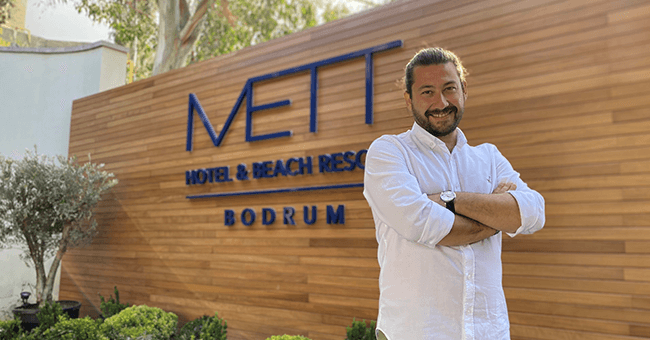 Mett Hotel & Beach Resort Bodrum'un Satış Direktörü Aykut Akyuz Oldu