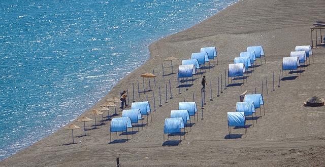 Assos bölgesindeki işletmeler, turizm sezonuna hazırlanıyor