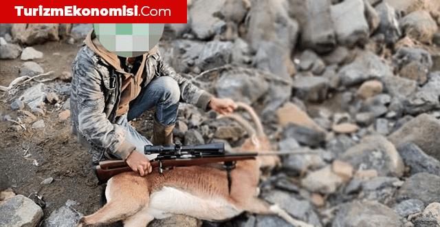 Dağ keçisi avlayan 6 kişiye 166 bin 662 lira ceza