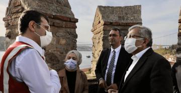 """Başkan İmamoğlu Açıkladı: """"Rumeli ve Anadolu Hisarları'nda restorasyon çalışmaları başladı"""""""