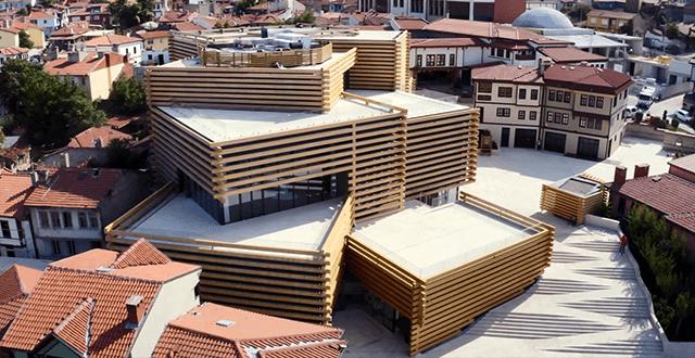 Eskişehir'deki Odunpazarı Modern Müze'ye uluslararası ödül