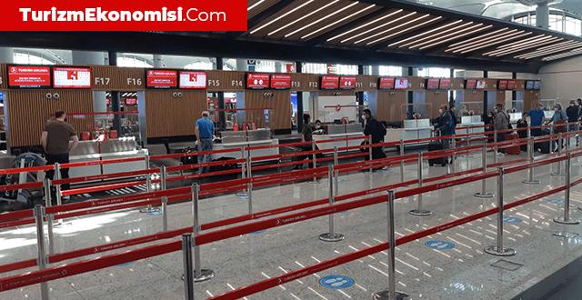 İstanbul Havalimanı'nda arife günü sessizlik hakim