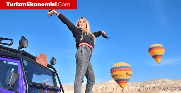 Turistlerden bayramda Kapadokya turu