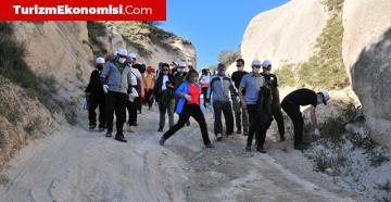 Nevşehir protokolü, Kapadokya'da çöp topladı